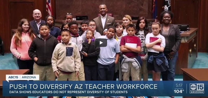 Push to Diversify Arizona Teacher Workforce